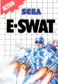 E-SWAT: Cyber Police SEGA Master System Front Cover