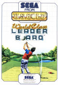 World Class Leader Board SEGA Master System Front Cover