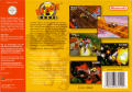 Blast Corps Nintendo 64 Back Cover