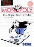 Monopoly SEGA Master System Front Cover