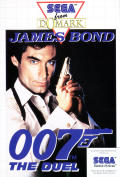 James Bond 007: The Duel SEGA Master System Front Cover