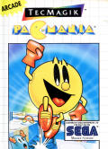 Pac-Mania SEGA Master System Front Cover