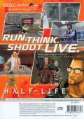 Half-Life PlayStation 2 Back Cover