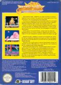 Jackie Chan's Action Kung Fu NES Back Cover