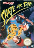 Skate or Die NES Front Cover