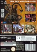 Spider-Man 2 GameCube Back Cover