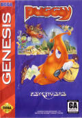 Puggsy Genesis Front Cover