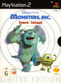 Disney•Pixar's Monsters, Inc. Scare Island (Limited Edition) PlayStation 2 Front Cover