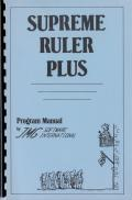 Supreme Ruler Plus TRS-80 Front Cover