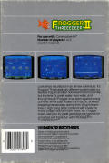 Frogger II: ThreeeDeep! Commodore 64 Back Cover