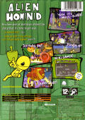 Alien Hominid Xbox Back Cover