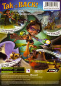 Tak 2: The Staff of Dreams Xbox Back Cover