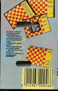 Master Chess ZX Spectrum Back Cover