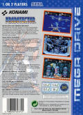 Contra Hard Corps Genesis Back Cover