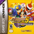 Mega Man Battle Network 5: Team Protoman Game Boy Advance Front Cover
