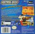 Astro Boy: Omega Factor Game Boy Advance Back Cover