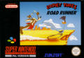 Road Runner's Death Valley Rally SNES Front Cover