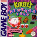 Kirby's Pinball Land Game Boy Front Cover