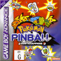 Pokémon Pinball: Ruby & Sapphire Game Boy Advance Front Cover