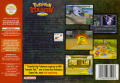 Pokémon Stadium 2 Nintendo 64 Back Cover