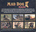 Mad Dog II: The Lost Gold DOS Other Carbon Case - Back