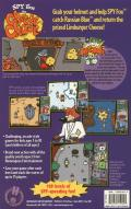 Spy Fox in Cheese Chase Macintosh Back Cover
