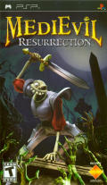 MediEvil: Resurrection PSP Front Cover