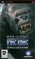 Peter Jackson's King Kong: The Official Game of the Movie PSP Front Cover
