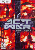 Act of War: Direct Action Windows Front Cover