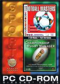 Football Masters + Championship Rugby Manager DOS Front Cover