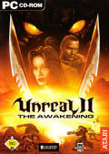 Unreal II: The Awakening Windows Front Cover