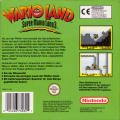 Wario Land: Super Mario Land 3 Game Boy Back Cover