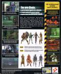 Metal Gear Solid Windows Back Cover
