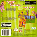 Lizzie McGuire 3: Homecoming Havoc Game Boy Advance Back Cover