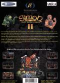 Simon the Sorcerer II: The Lion, the Wizard and the Wardrobe Amiga Back Cover