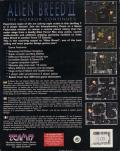 Alien Breed II: The Horror Continues Amiga Back Cover
