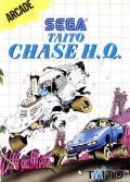 Chase H.Q. SEGA Master System Front Cover