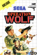 Operation Wolf SEGA Master System Front Cover