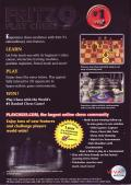 Fritz 9: Play Chess Windows Back Cover