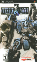 Armored Core: Formula Front - Extreme Battle PSP Front Cover