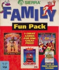 Family Fun Pack DOS Front Cover