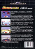 Turbo Out Run Genesis Back Cover