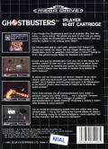 Ghostbusters Genesis Back Cover