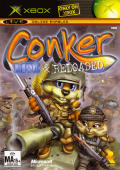 Conker: Live & Reloaded Xbox Front Cover