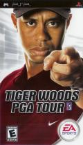 Tiger Woods PGA Tour PSP Front Cover