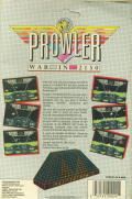 Prowler Commodore 64 Back Cover