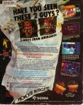 Space Quest III: The Pirates of Pestulon DOS Back Cover
