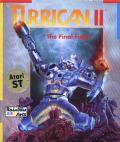 Turrican II: The Final Fight Atari ST Front Cover