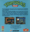 Teenage Mutant Ninja Turtles ZX Spectrum Back Cover