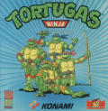 Teenage Mutant Ninja Turtles ZX Spectrum Front Cover